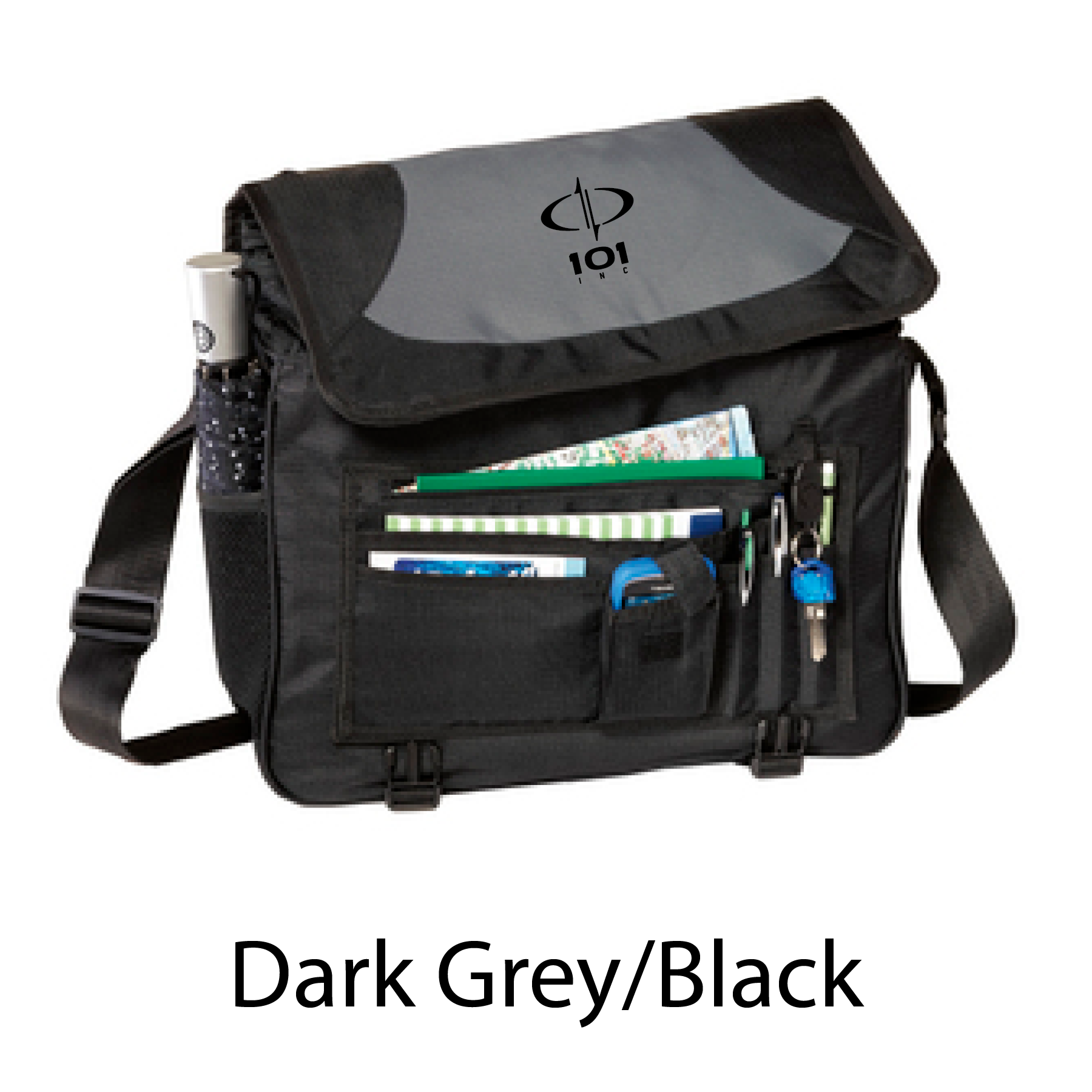 Port Authority Mid City Messenger with embroidered logo