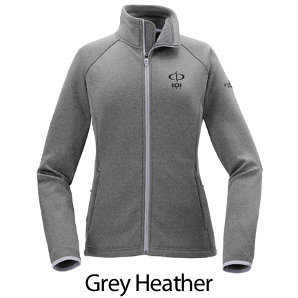 The North Face Brand Ladies Canyon Flats Stretch Fleece Jacket - Embroidered