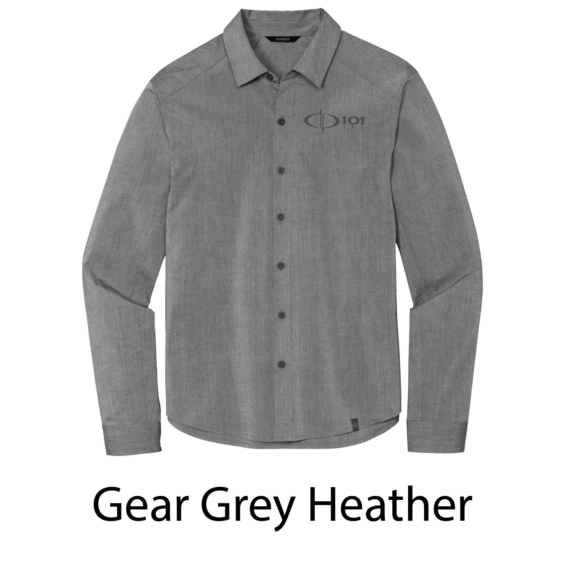 OGIO® Commuter Woven Shirt - Embroidered