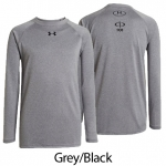Men's UA Long Sleeve Locker T-shirt - Screenprinted