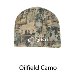 Port Authority® Camouflage Fleece Beanie - Embroidered