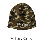 Port & Company® - Camo Beanie Cap - Embroidered