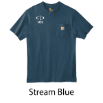 Carhartt ® Workwear Pocket Short Sleeve T-Shirt - Screenprinted