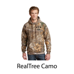 Russell Outdoors Realtree Pullover Hoodie with embroidered logo
