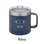 14 oz Urban Peak® Trek Vacuum Camp Mug - Navy