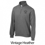 Sport Tek 1/4 Zip Sweatshirt - Embroidered