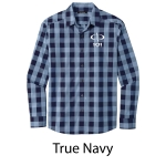 Port Authority® Everyday Plaid Shirt - Embroidered